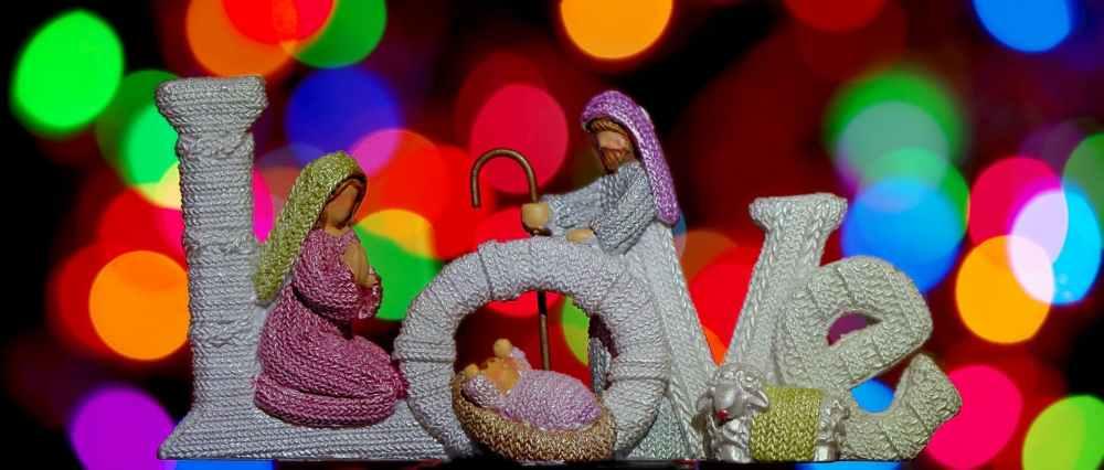 close up of multi colored figurine
